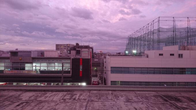 夕暮れ時(紫)